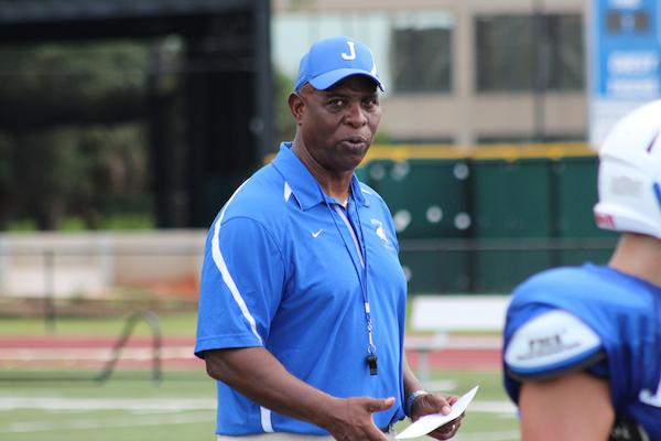 James Harrell, Jesuit head football coach
