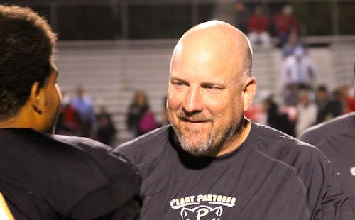 Plant head football coach, Robert Weiner