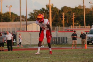 CCC's Amari Burney has become a high-valued target for several college programs.