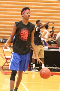 CJ Walker Jr. was a highlight reel waiting to happen at yesterday's Breakdown Showcase.