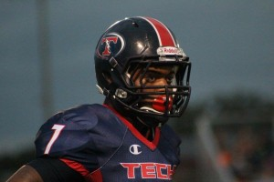 TBT WR Daquon Green will need to have a big game if the Titans want to secure a win against Plant City on Friday.