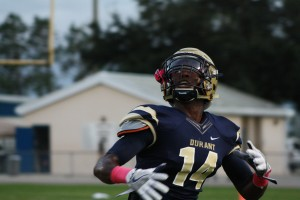 Durant WR Brandon Myers had another good performance against Strawberry Crest on Friday night.