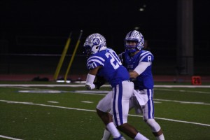 Jesuit's duo of Malik Davis and Danny Boon had great days against Immokalee on Friday Night.
