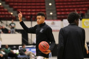 Kevin Knox at the 2017 Class 5A Basketball State Championships at The Lakeland Center on Saturday.